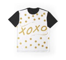 XOXO Gold Graphic T-Shirt