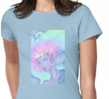 pastel mermaid Womens Fitted T-Shirt