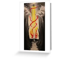 Parting the Red Sea Greeting Card