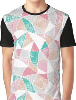Abstract graphic pattern. Fun triangles.  Graphic T-Shirt