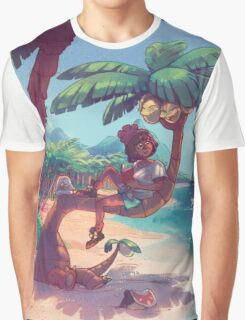 Relaxin' the Alola Way Graphic T-Shirt