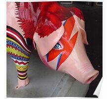 Piggy Stardust Poster