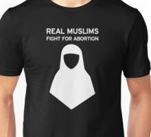 Real Muslims - White Unisex T-Shirt