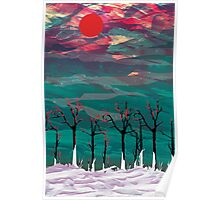 Old trees Poster