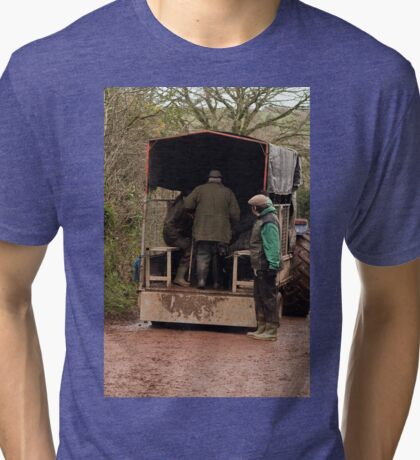 Devon Taxi Tri-blend T-Shirt