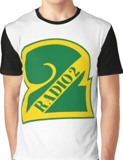 Radio 2 Retro logo Graphic T-Shirt