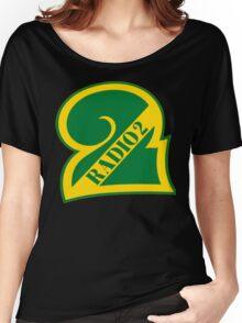 Radio 2 Retro logo Women's Relaxed Fit T-Shirt