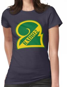 Radio 2 Retro logo Womens Fitted T-Shirt
