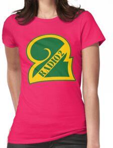 Radio 2 Retro logo Womens Fitted T-Shirt