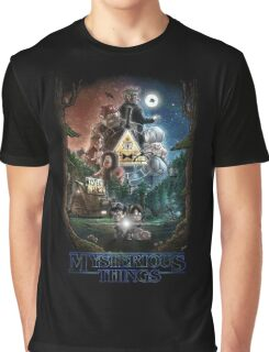 Mysterious Things Graphic T-Shirt