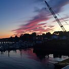 Salem Sunset by Laura Dandaneau