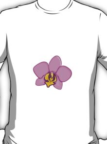 Cute cartoon orchid T-Shirt