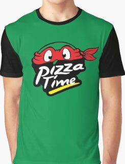 Pizza Time Graphic T-Shirt