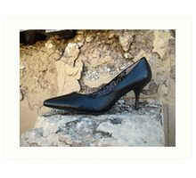 Black Shoe  Art Print