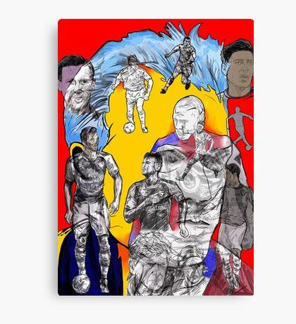 Arsenal Generations Canvas Print