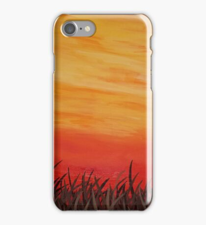 In the sunset iPhone Case/Skin