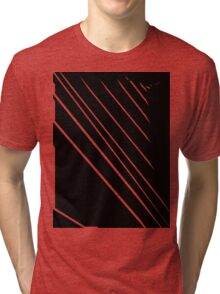 Into the Lines - Art6 Tri-blend T-Shirt
