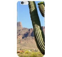 Superstition Mountain - Cactus View iPhone Case/Skin