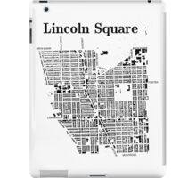 Map of Lincoln Square iPad Case/Skin
