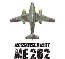 MESSERSCHMITT ME262 SCHWALBE Photographic Print