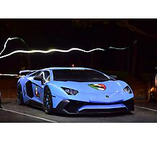 Novitec Lamborghini Aventador lp-750SV Photographic Print