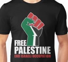 Free Palestine end Israeli Occupation Unisex T-Shirt