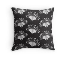 Hedgehog Fan 2 Throw Pillow
