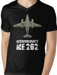 MESSERSCHMITT ME262 SCHWALBE Mens V-Neck T-Shirt