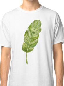 tropical leaf Classic T-Shirt