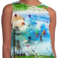 The Land of Stories & Nursery Rhymes Contrast Tank