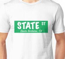 State Street Sign- Green Unisex T-Shirt