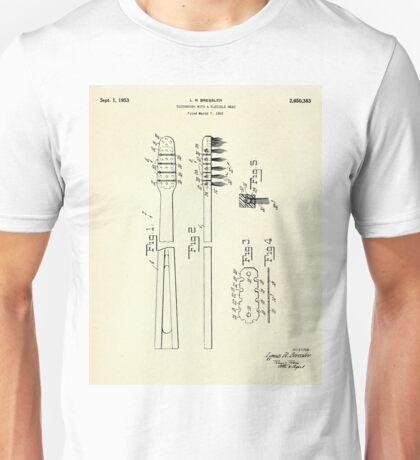 Toothbrush-1953 Unisex T-Shirt