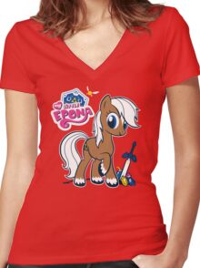 My Little Epona Women's Fitted V-Neck T-Shirt