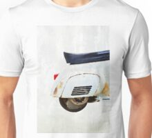 Vitage moped in watercolor Unisex T-Shirt