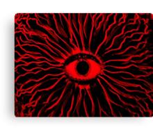 RED Mushy trip Canvas Print