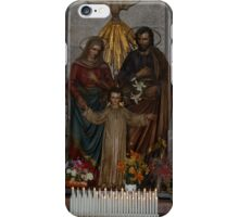 BEAUTIFUL CHURCH FIQURES iPhone Case/Skin