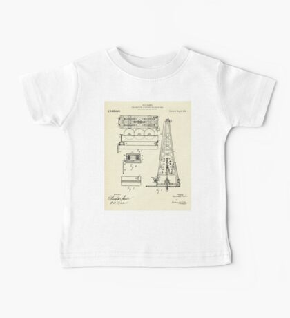 Load indicating attachment for drilling rigs-1916 Baby Tee