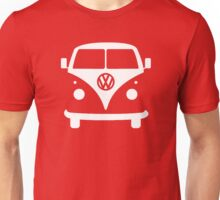 VW splittie bus outline_ Kombi outline Unisex T-Shirt