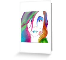 Zoe Colegrove - Self Portrait Greeting Card