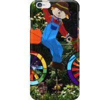 Bright colours at the Scarecrow Festival iPhone Case/Skin
