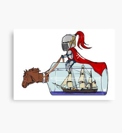 Sailor knight Canvas Print