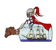 Sailor knight Photographic Print