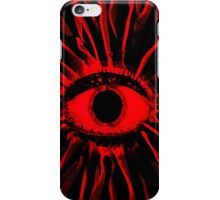 RED Mushy trip iPhone Case/Skin