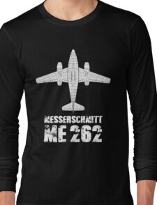 MESSERSCHMITT ME262 SCHWALBE Long Sleeve T-Shirt