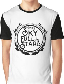 You're a Sky Full of Stars logo Graphic T-Shirt