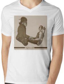 Dollhouse clones Mens V-Neck T-Shirt