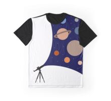 A Telescopes Sight Graphic T-Shirt