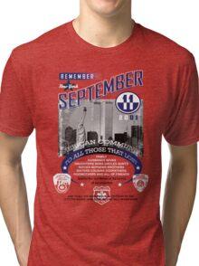 9/11 2 Tri-blend T-Shirt