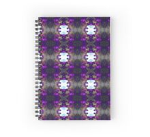 Violet Basket (VN.183) Spiral Notebook