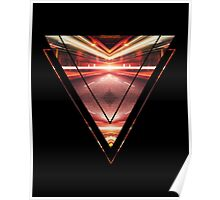 Geometric Street Night Light (HDR Photo Art) XTFORCE-TB Poster